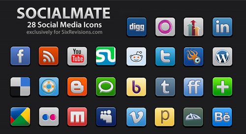 socialmate-icons